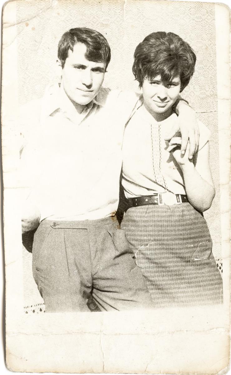 Grigore și Elena Tudor, 1970