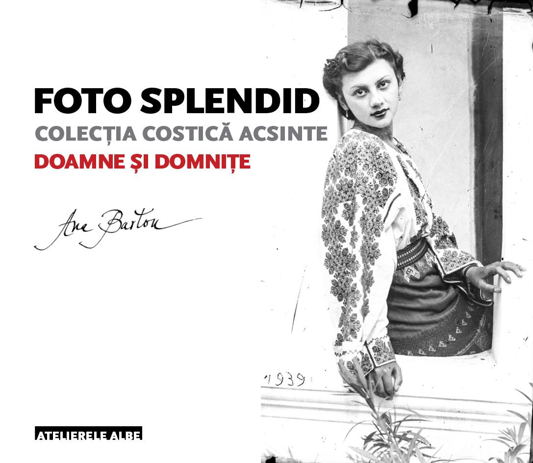 Coperta volumului al II-lea din seria Foto Splendid, denumit Doamne și domnițe